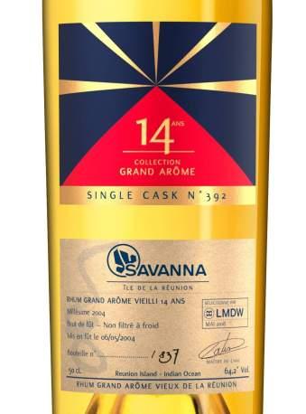 Savanna Lontan 2004-14ans LMDW etiquette