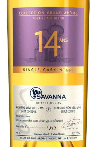 Savanna lontan 2004-14ans Porto etiquette